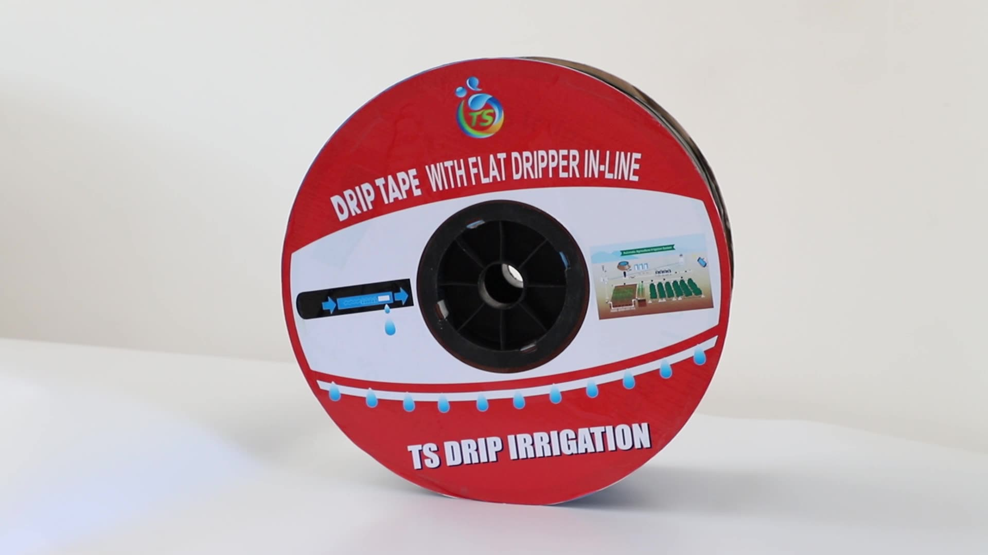 Hot sale other watering plastic round emitter 16mm drip irrigation pipe for agriculture