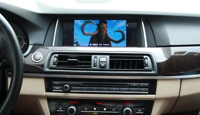 """YZG 10.25"""" 8 Core Android 9.0 Carplay Navigation Multimedia Radio DVD Player NBT System Used for BMW X5 X6 E15 E16 2014-2017"""