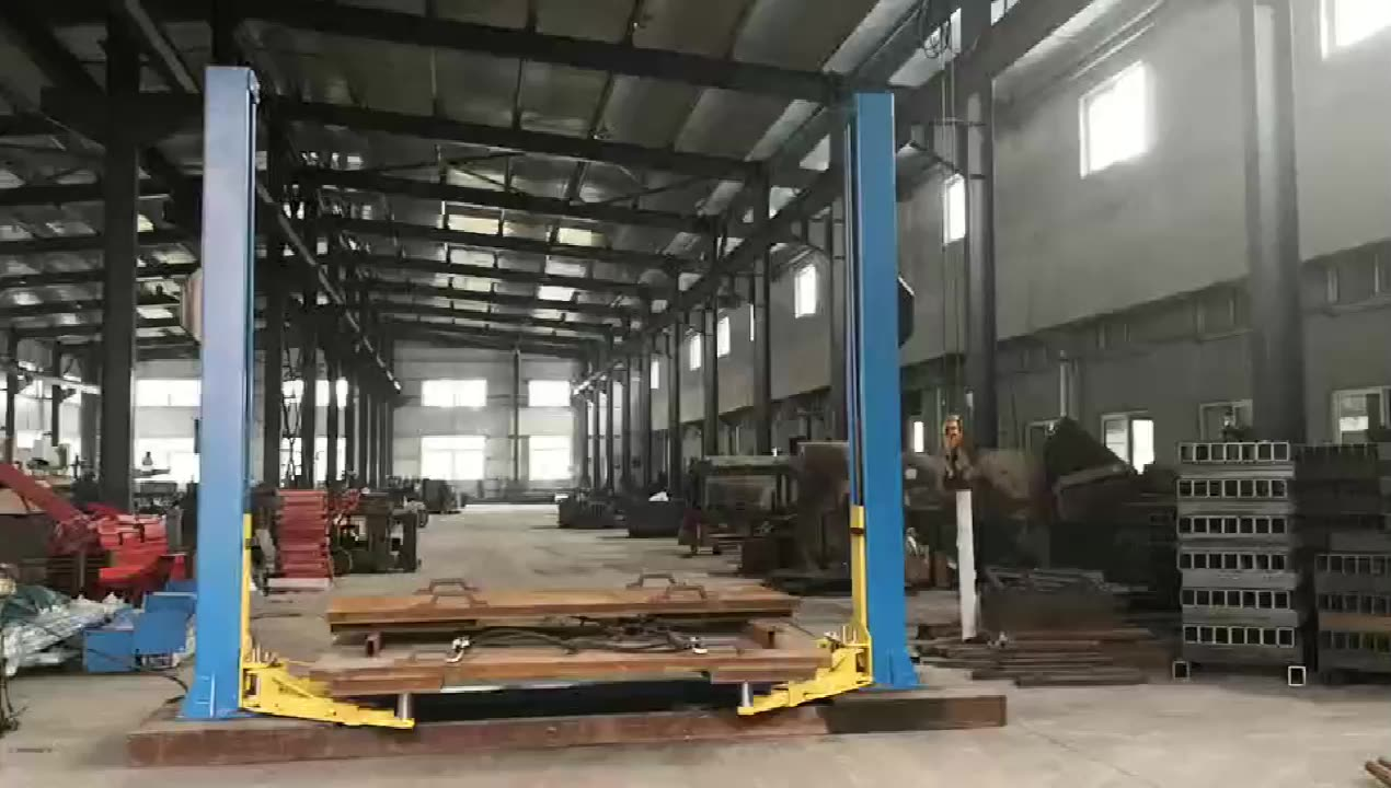 Commercial 3.5 Ton hydraulic cheap two post car lift with CE for sale lifter