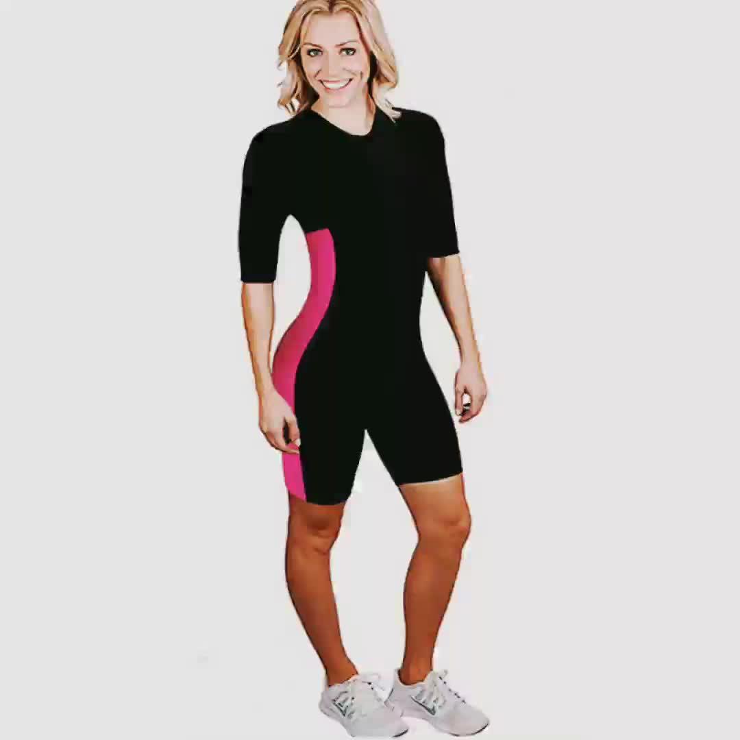 Frauen-Gewichts-Verlust-Neopren-Schweiß Sauna, die Anzug abnimmt