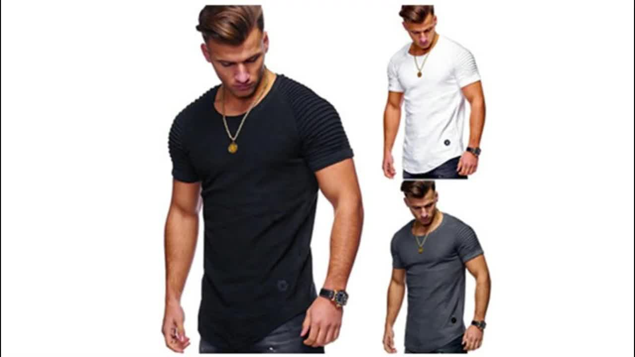 Free Shipping Plus Size Tee Shirt Homme Summer Short Sleeve Casual Men's T Shirts