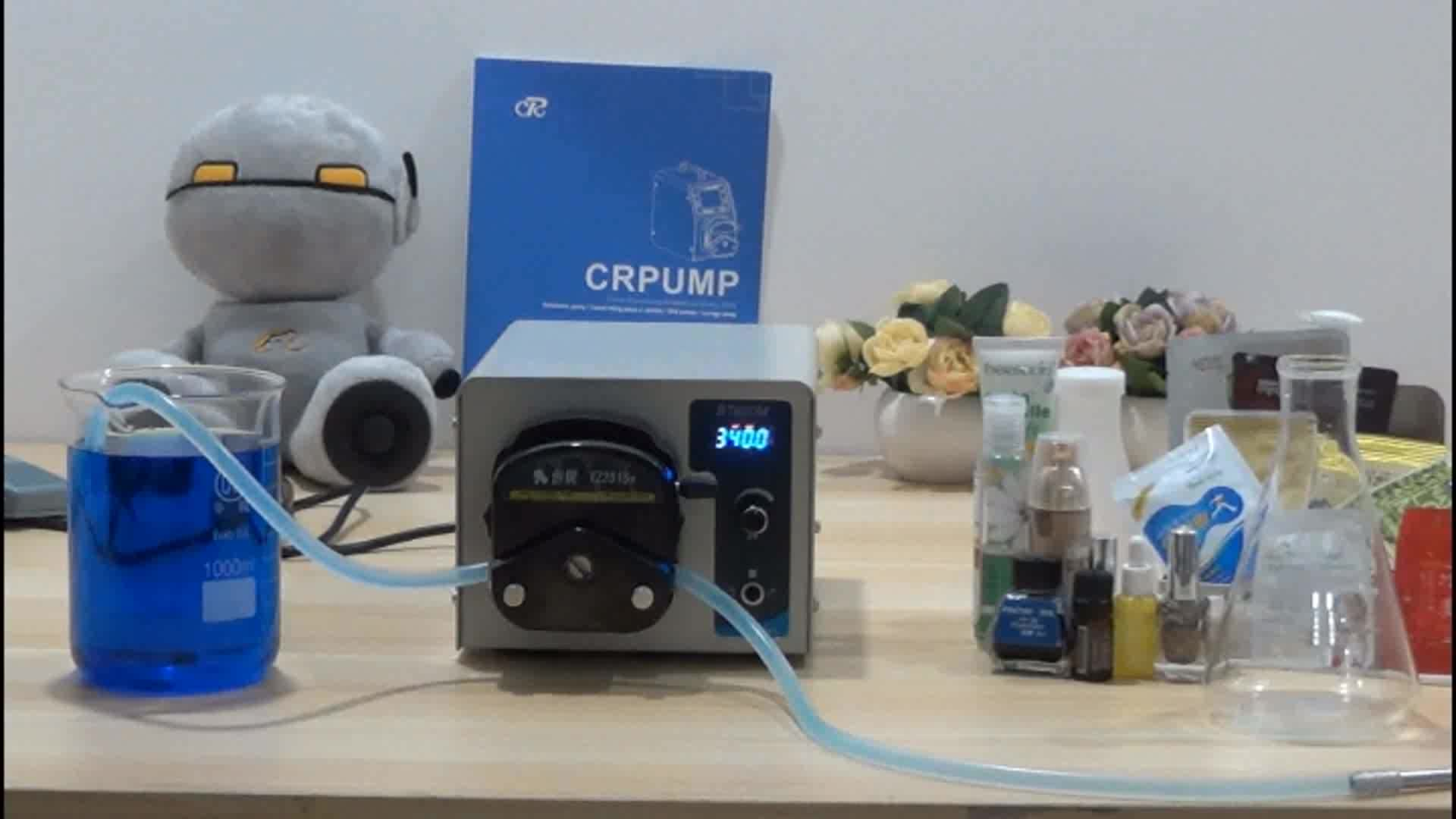 Foot pedal control Saline transfer Liposuction Infiltration Tumescent anesthesia Dosing Peristaltic infusion Pump