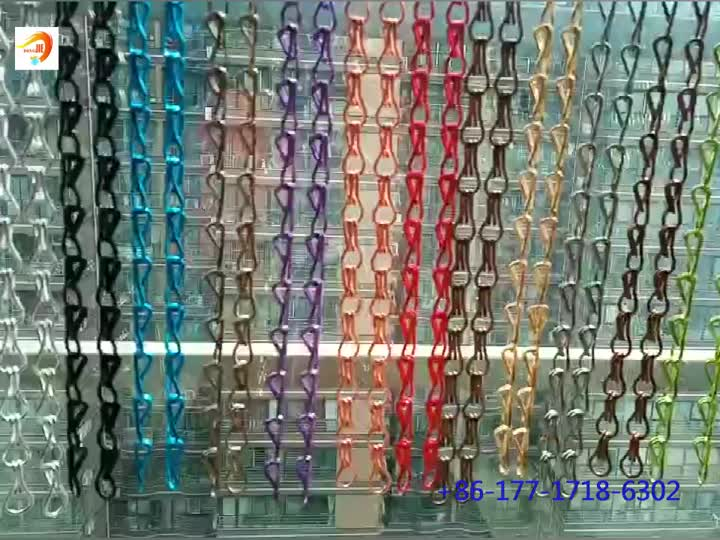 Chain link wire mesh curtain hot sale