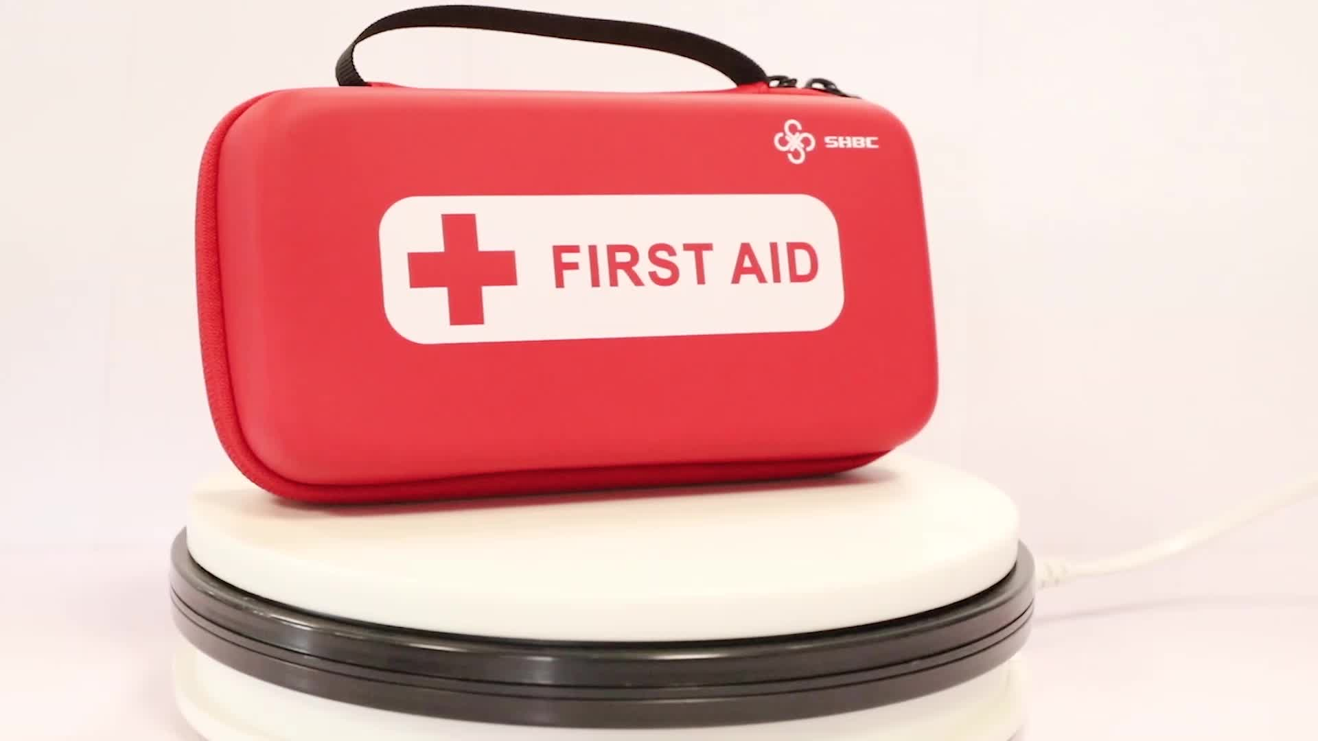 FDA CE Certificated Hot Sale EVA Waterproof Portable First Aid Survival Set Kit/Bags With Supplies