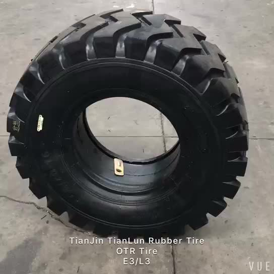 TianLun Brand Prices Off the Road Bias Pneumatic Loader Tire 26.5-25