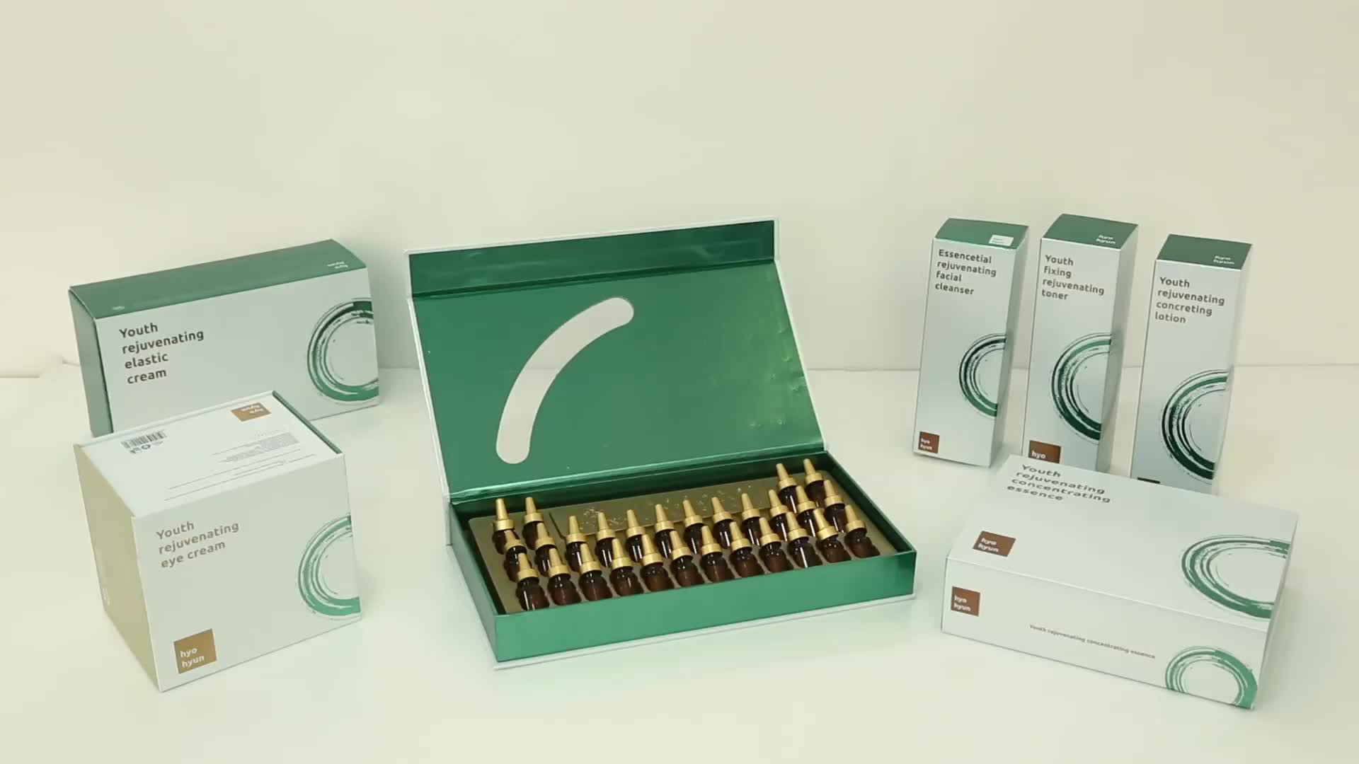 Extract zeldzame geneeskrachtige kruiden Cordyceps sinensis ginseng gezicht wassen gezicht foam cleanser