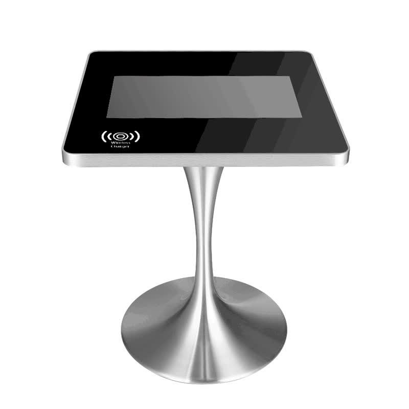 ゲームインタラクティブレストラン会議広告スタンドメニューホルダー Led コーヒータッチスクリーンテーブル
