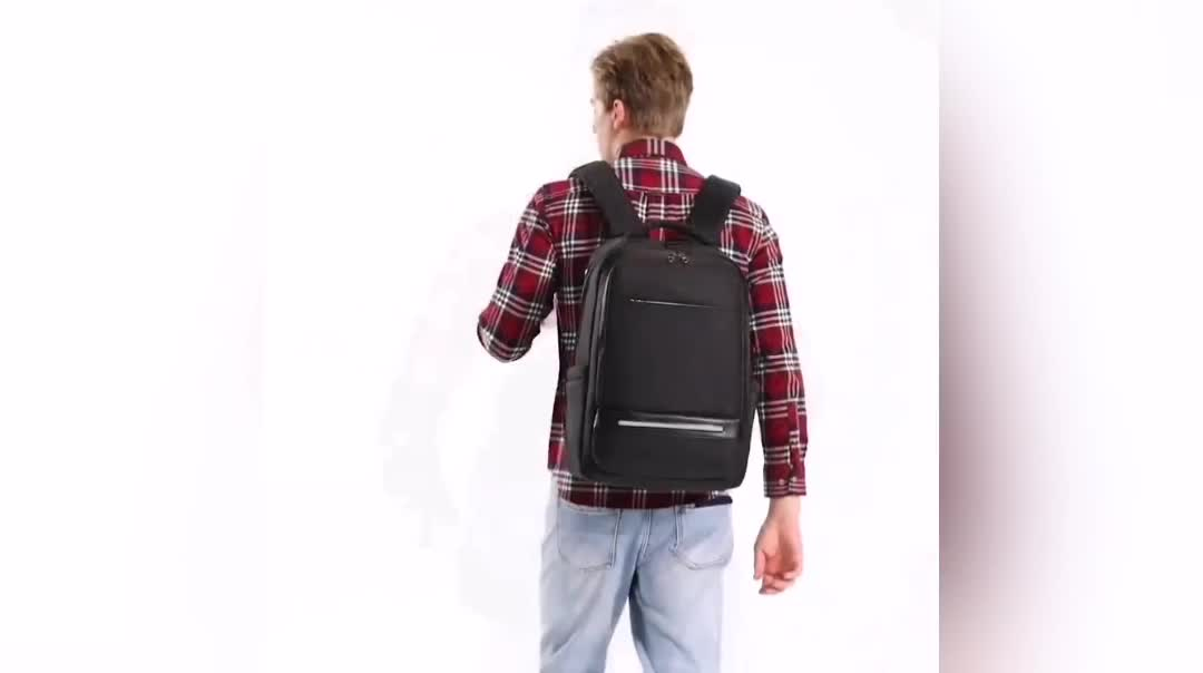 New Custom Logo Oxford Simple Casual Business Laptop Backpack