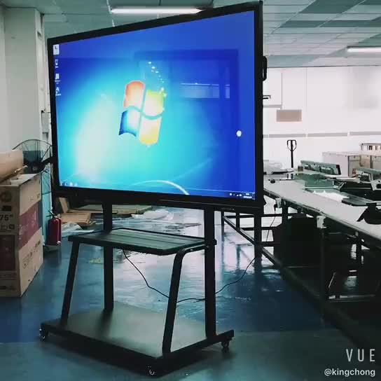85 インチ 4 uhdフラットスクリーンテレビオールインワンスマートタッチdoubleside磁気ホワイトボード教授会議