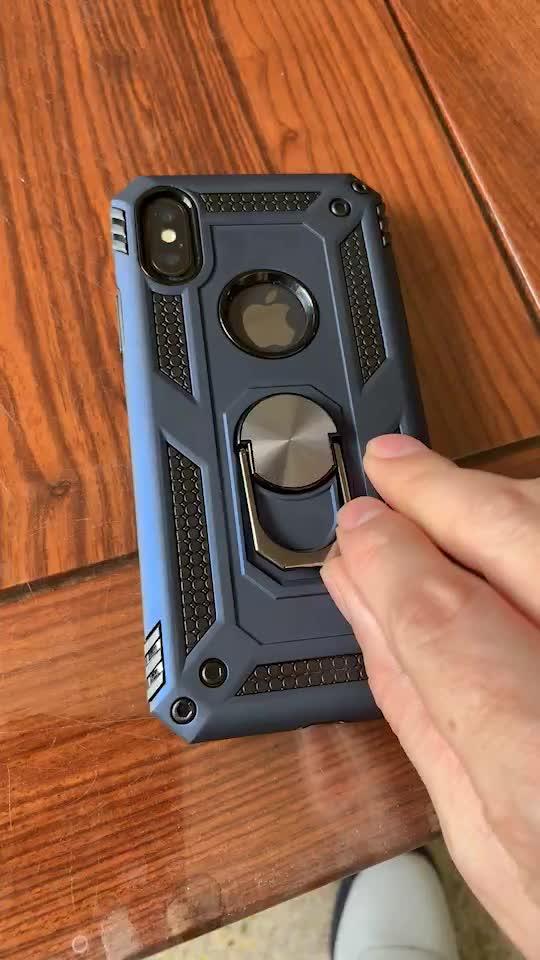 Maxshine Heavy Duty 폰 Cover 대 한 S9 S10 S10e S10 PLUS, custom Smartphone 킥 Phone Case 링 대 한 Iphone Xs Max
