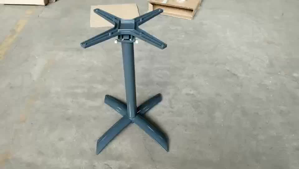 Wholesale aluminum dining table base for restaurant