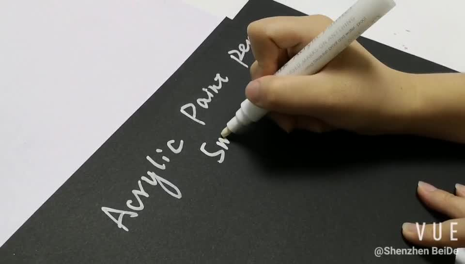 Import ink writing smoothly acrylic pen paint marker pens for painting Wood, Fabric, Canvas
