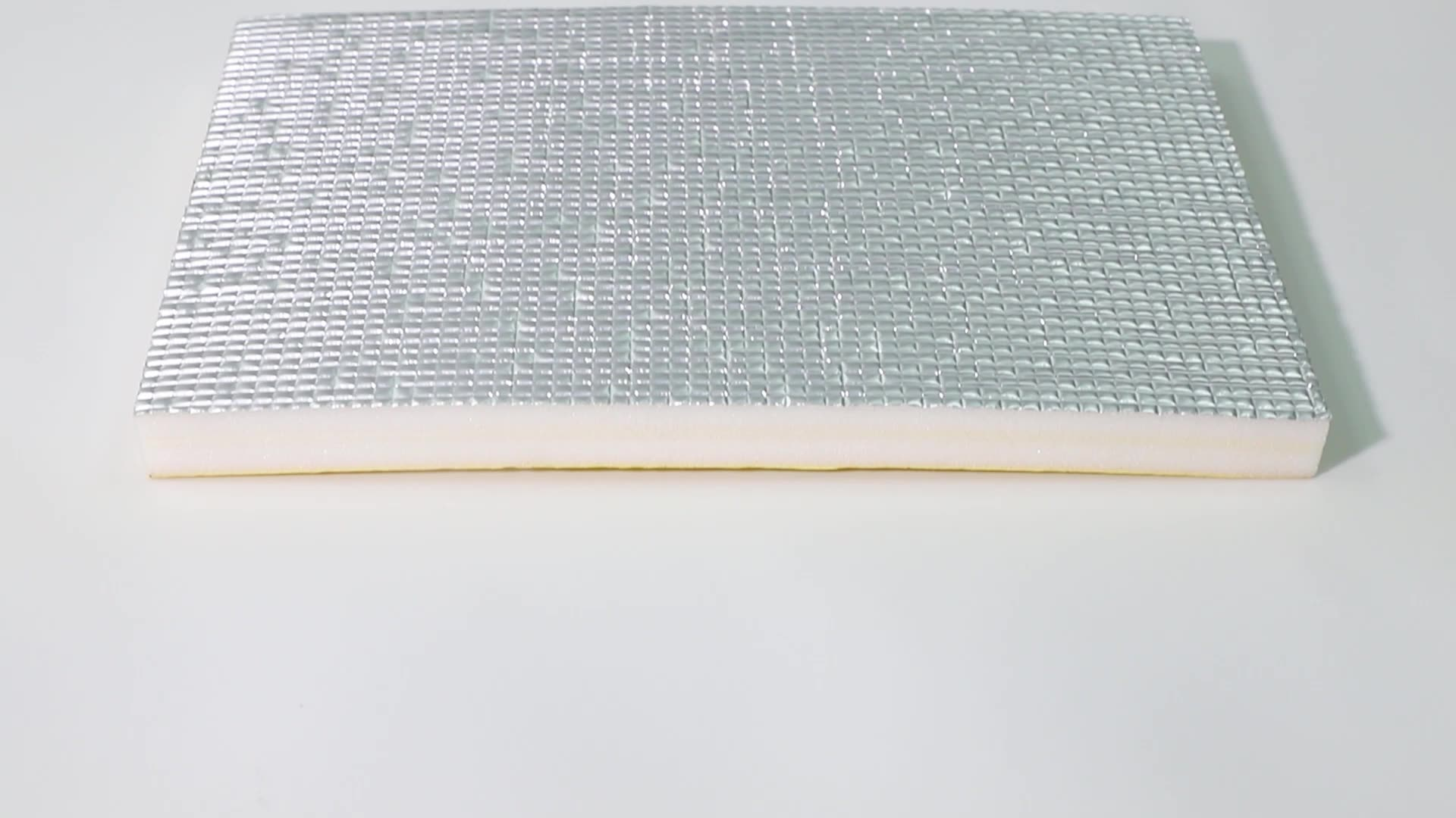 Xpe Foil Pe Foam Insulation Duct Closedcell Moisture Proof Ixpe Foam Sheet