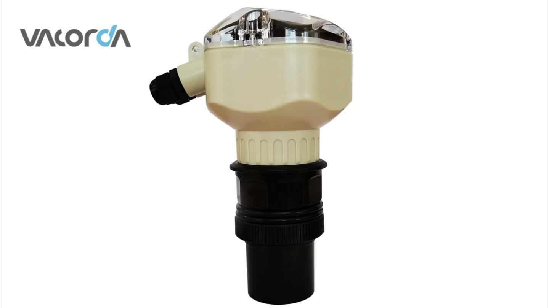 Water Tank Level Meter Digital Ultrasonic Water Level Sensor