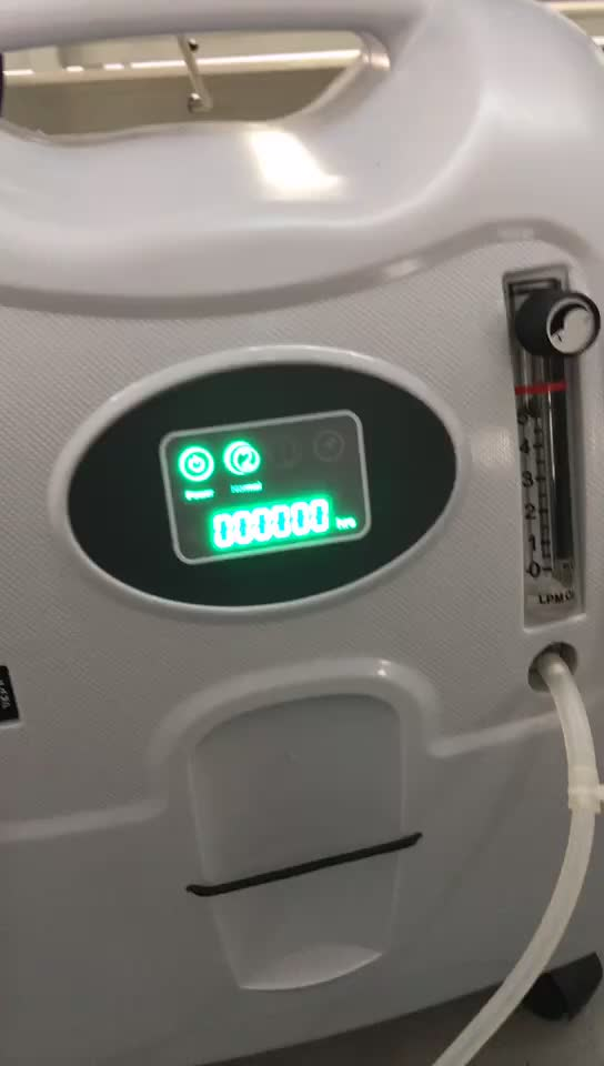 Medical devices 5L portable CE&ISO certified medical equipment oxygen concentrator for COPD