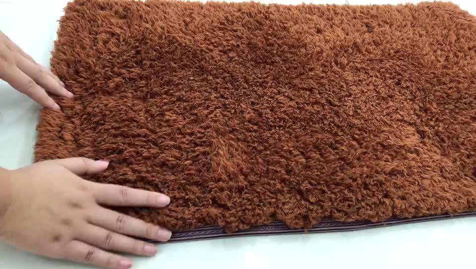 Fabbrica di fondo non tessuto su misura tessuti a mano telaio a mano misto lana 3D tappeto
