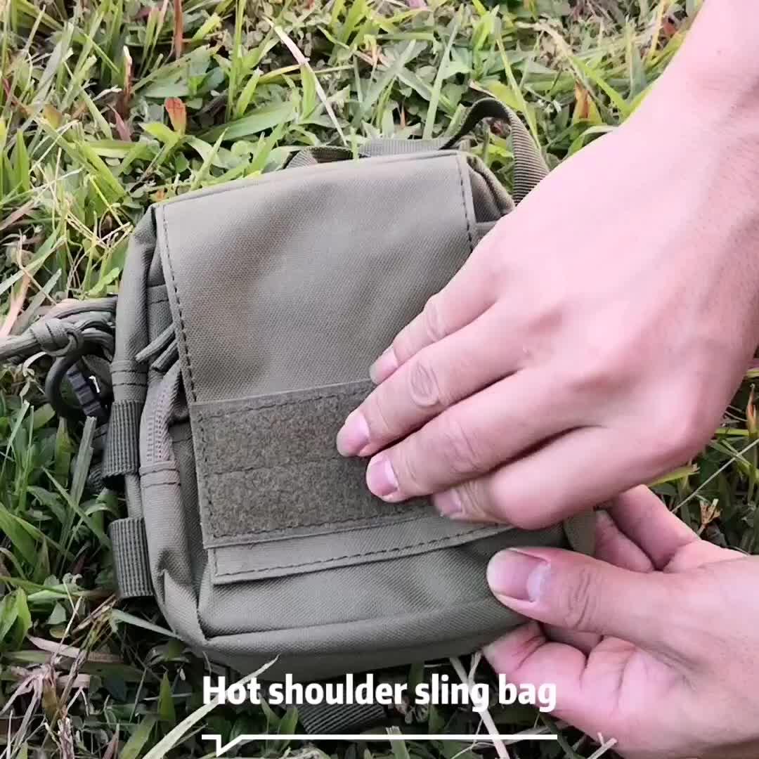 1000D Tactische Molle Pouch Taille Zakken Fanny Pack Waterdichte Molle Utility Bag