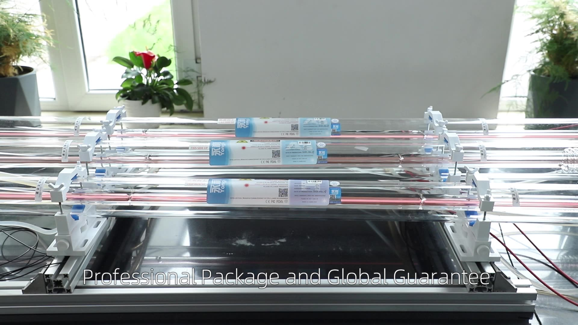 New Product Yongli A1s 10 months warranty 70w co2 laser tube