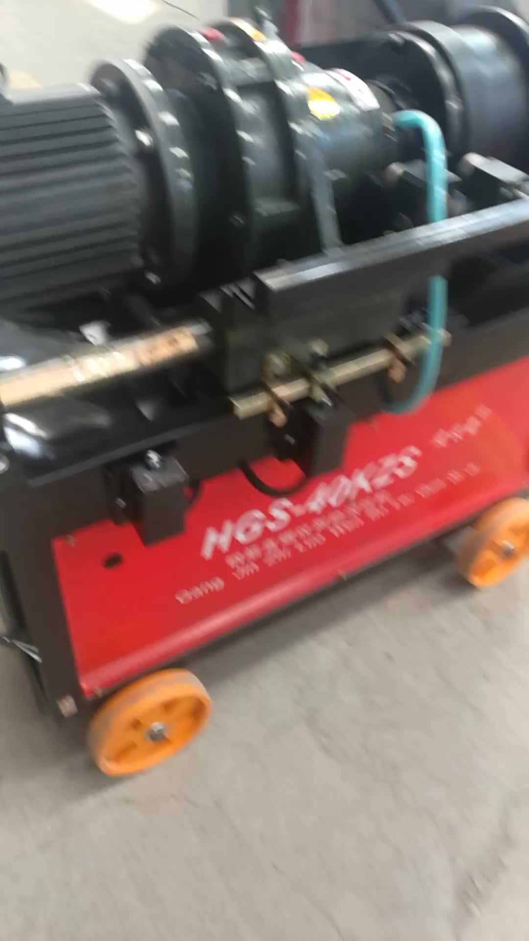 ¡Suministro directo de fábrica! HGS-40KZS de barras de refuerzo de acero máquina de laminación de hilo/varilla de máquina de roscar de suministro de fábrica