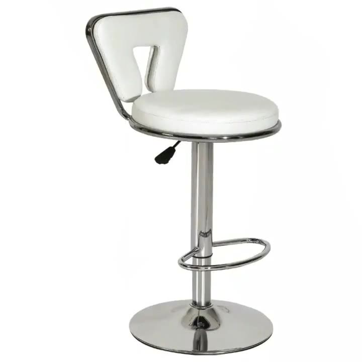 Modern design luxury stainless steel bar high table chair velvet traditional bar chair