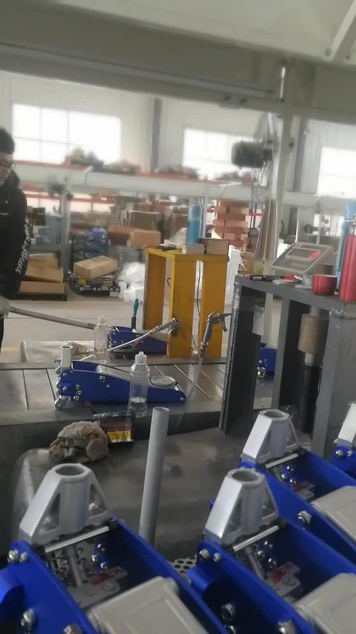 3 tonnes en aluminium approuvé par CE en acier hydraulique plancher jack