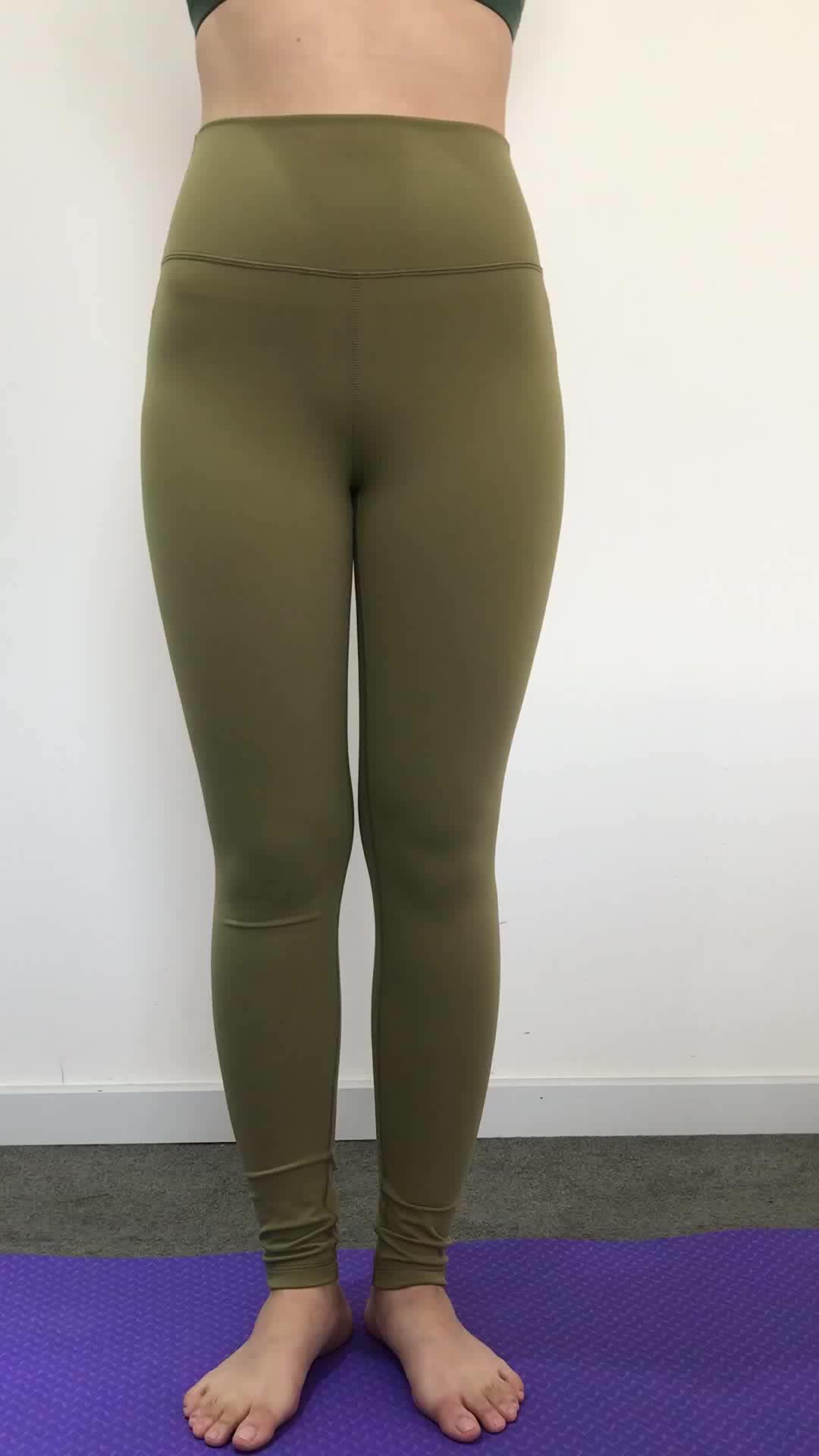 Bulk Cheap Ladies Girls Workout Scrunch Butt Lift Leggings Activewear OEM Custom Gym Fitness Women Yoga Pants
