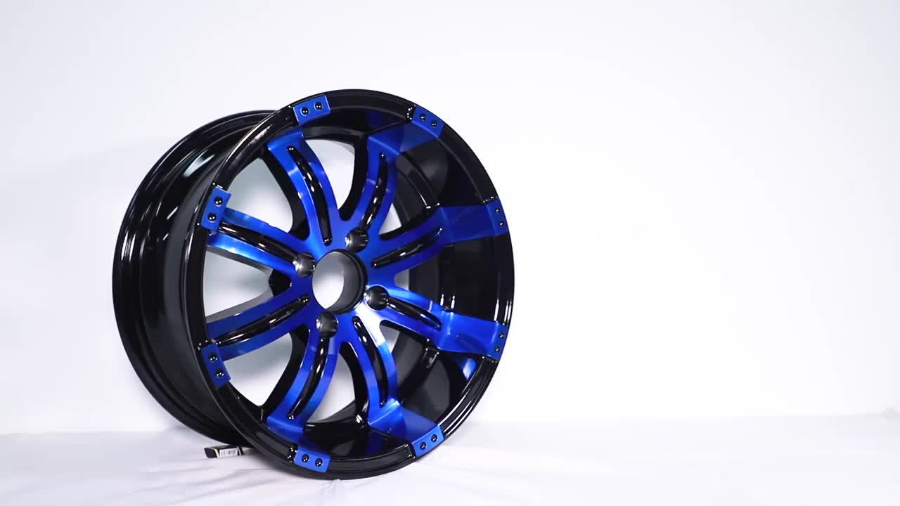item 388 Wholesale Hot Sale Offroad Deep Dish 20 Inch 4X4 Alloy Wheels Rim