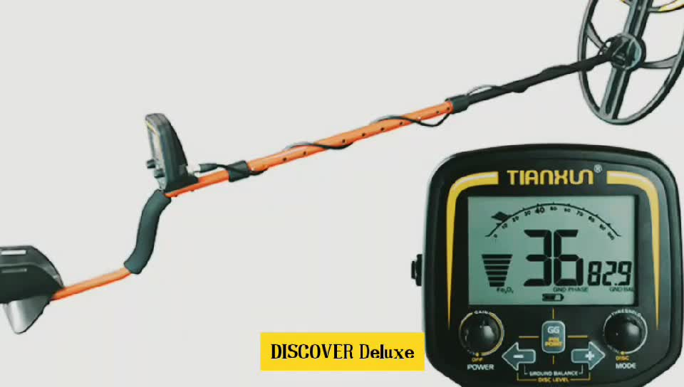 Tianxun brand New DISCOVER Deluxe high sensitivity underground gold metal detector
