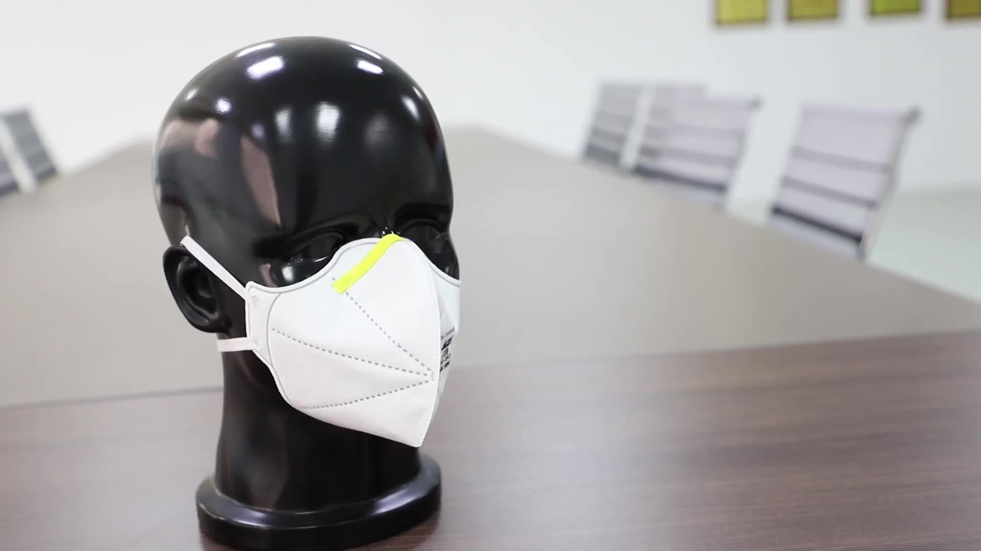 NIOSH N95 Disposable 3ply Safety Half Filter Face Pollution Respirator Mask