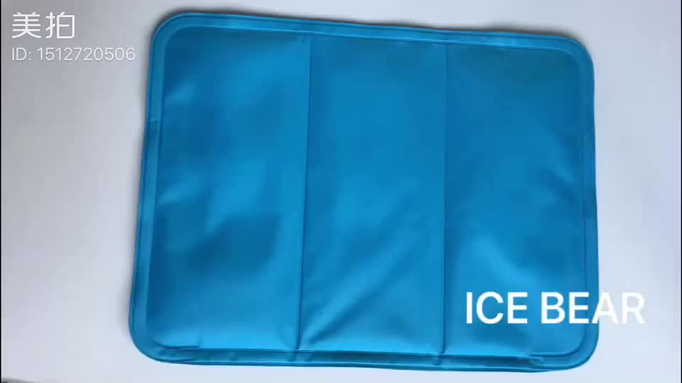 2020 Factory Wholesale Custom Summer Sleeping Cooling Pillow Gel Pad Cooling Pillow Mat Ice Cold Cool Gel Pillow Human Body Use