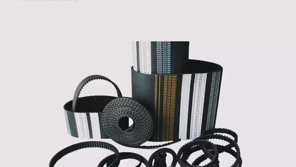 S2M rubber timing belt for 3D printer factory price
