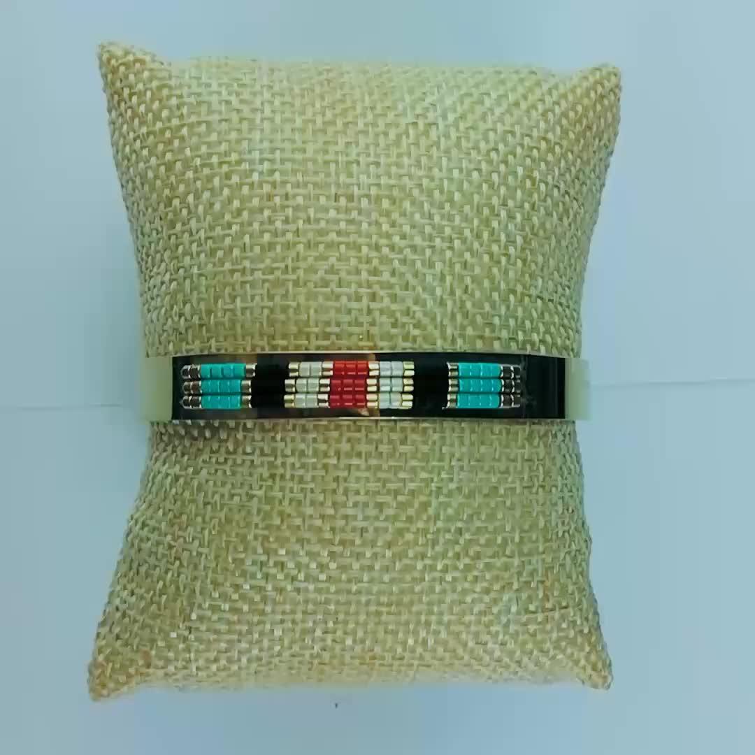 Lancui 10 미리메터 (High) 저 (Quality PVD Plated 금 티타늄 Bracelets 미유키 Beads Bracelets 독일 Country Flag Bracelets