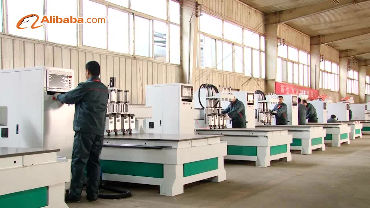 automatic tool changing multifunction woodworking machines