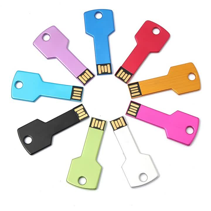 2020 new products metal key usb flash drive no housing best buy Key Pendrive free sample OEM made in China