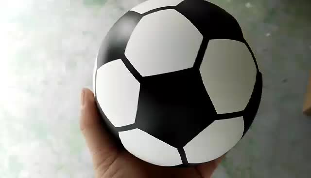 gender reveal soccer ball with powder