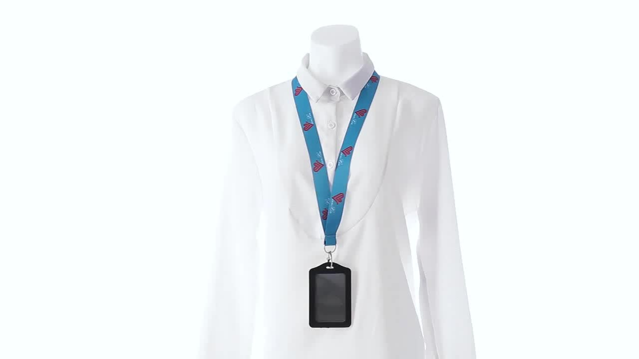 Round Lanyards neck strap for ID Card