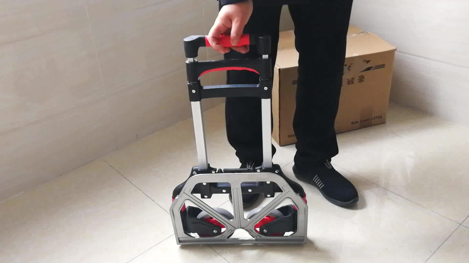 Foldable Hand Cart Collapsible Hand Trolley