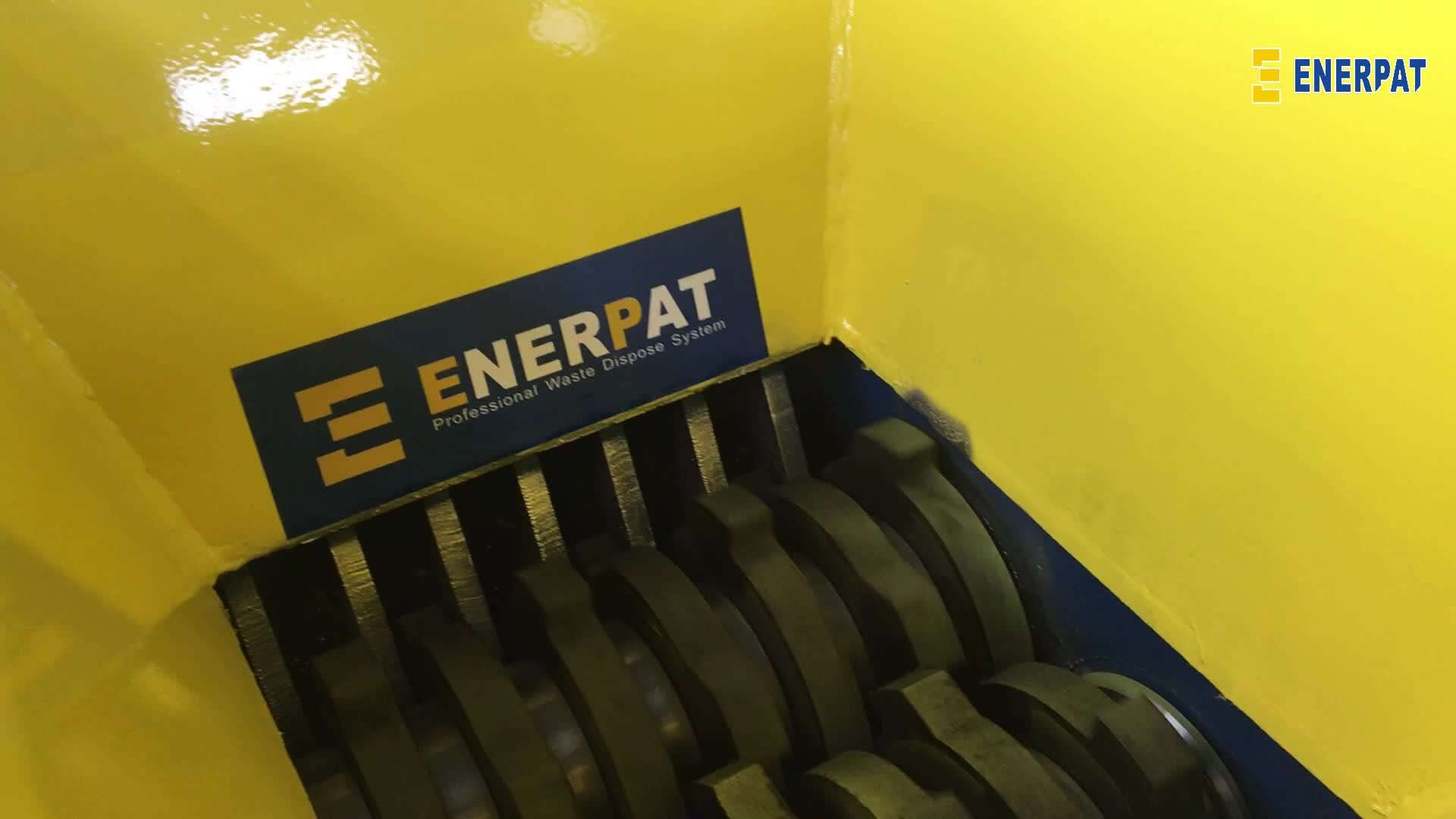 Enerpat machines shredder bladen