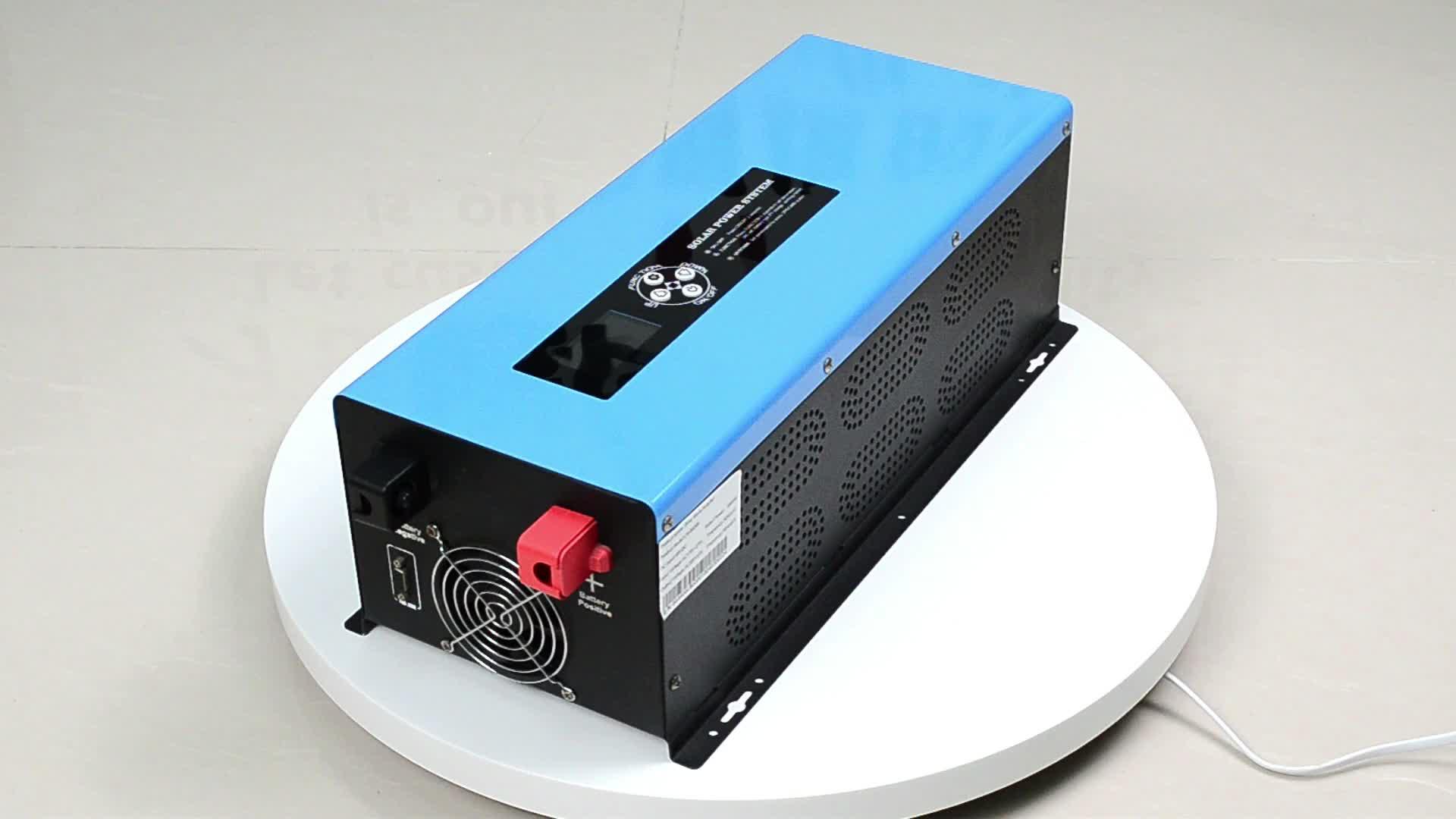 Nhà máy bán buôn DC để AC power inverter cho quạt sạc điều hòa không khí truyền hình 1000 Wát 1500 Wát 2000 Wát 3000 Wát 4000 wát 5000 wát