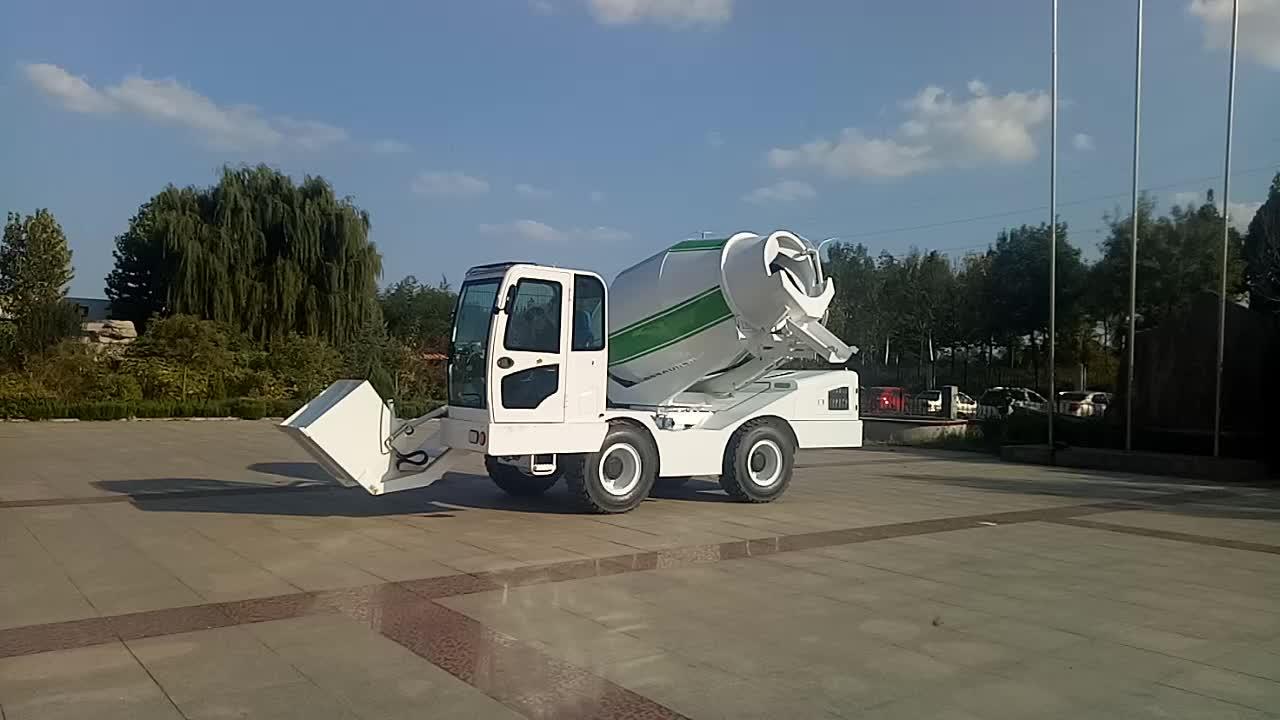 Shandong Heracles 4cbm self loading betoneira em filipinas