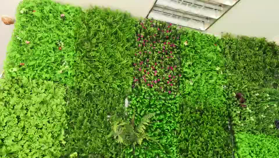 garden vertical artificial green wall new product fake plant wall for decoration