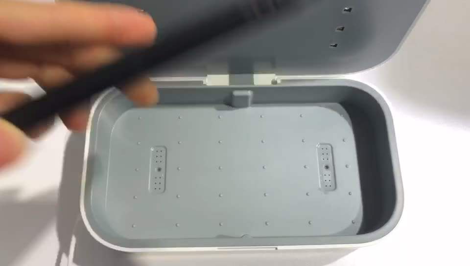 Strong UV Light Mobile Phone Sanitizer Watch/Jewelry/Tweezers Sterilizer
