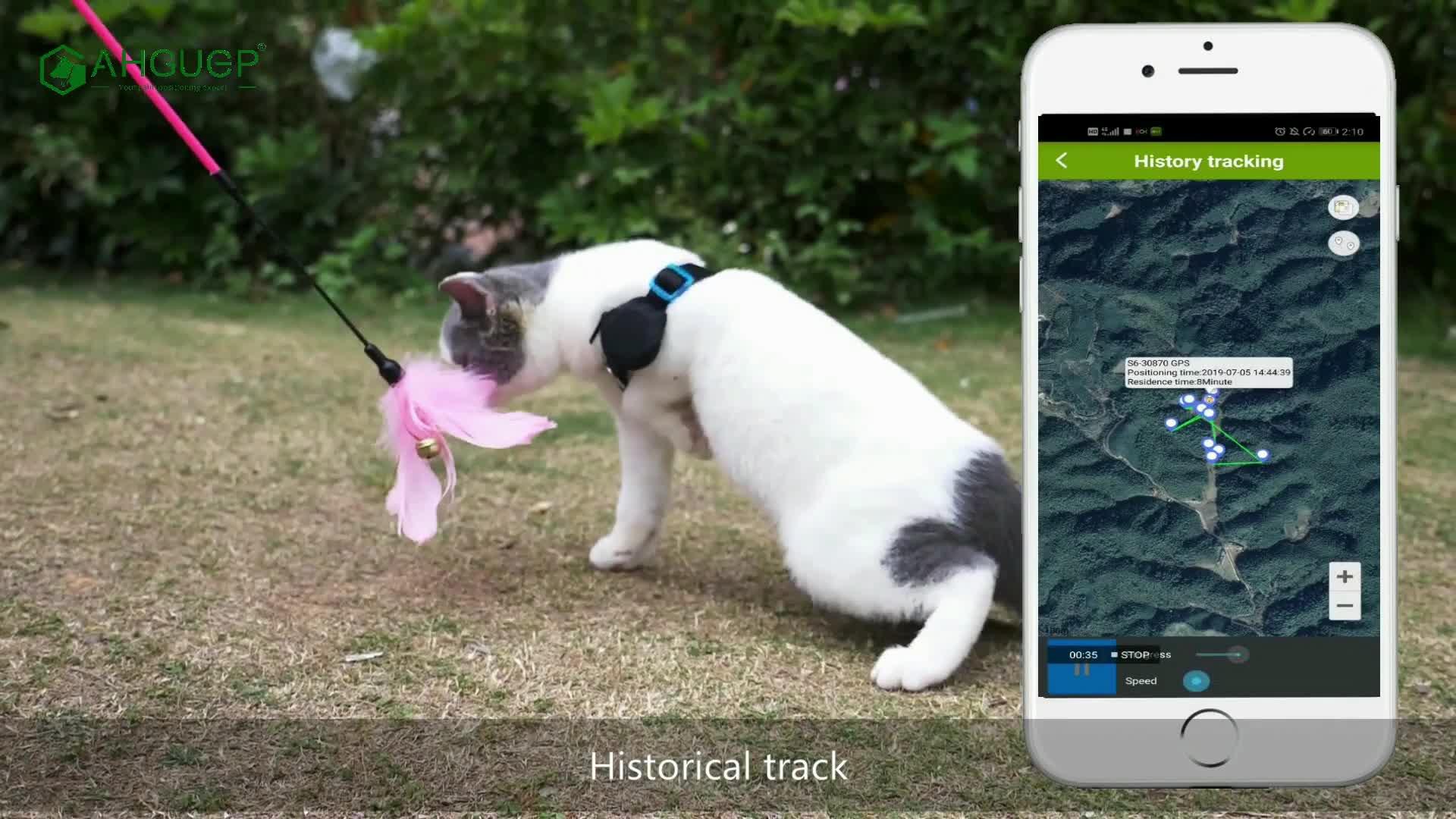 Atividade AHGUEP à prova d' água micro localizador sistema de dispositivo de rastreamento mini localizador gps tracker