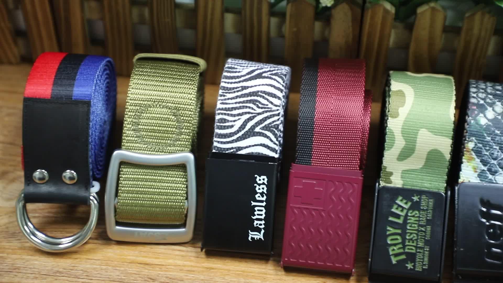 15 Years Factory Mens Designer Braided Fabric Belt