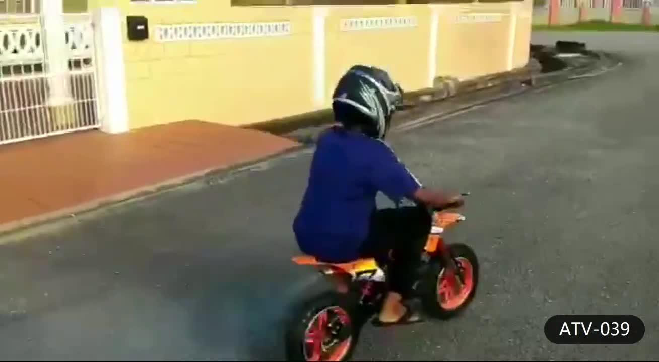 Mini Moto Cross 2 Takt 49cc Pocket Dirt Bike Voor Kinderen