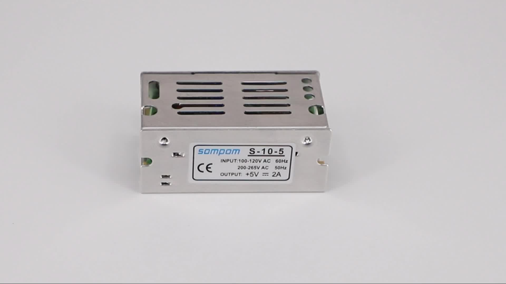 Universal AC to DC 5V 2A 10w Switch Mode LED Switching Power Supply for Electronics LED Driver