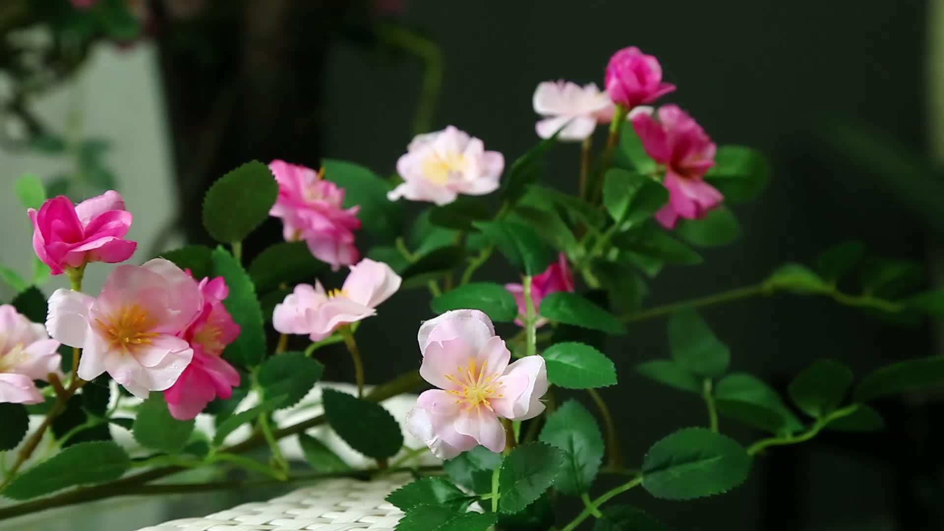 roses flannel peony rose leaf flower desert rose plants for sale flower vine garland artificial flowers peony