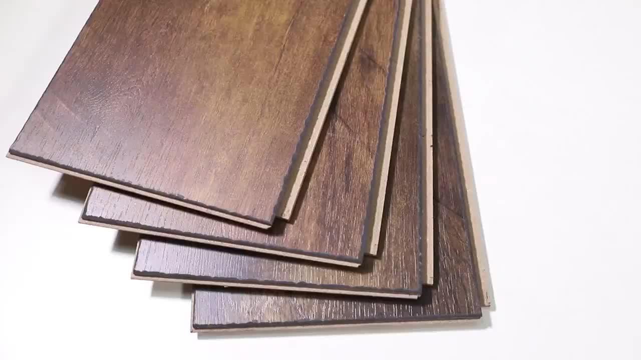 China factory supplying high quality wood laminate flooring