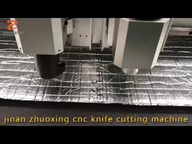 Fabrika fiyat Ses Yalıtımı Panelleri Akustik Fayans Akustik Nitril kapı Yalıtım kesme makinası CNC dijital kesici CE ile