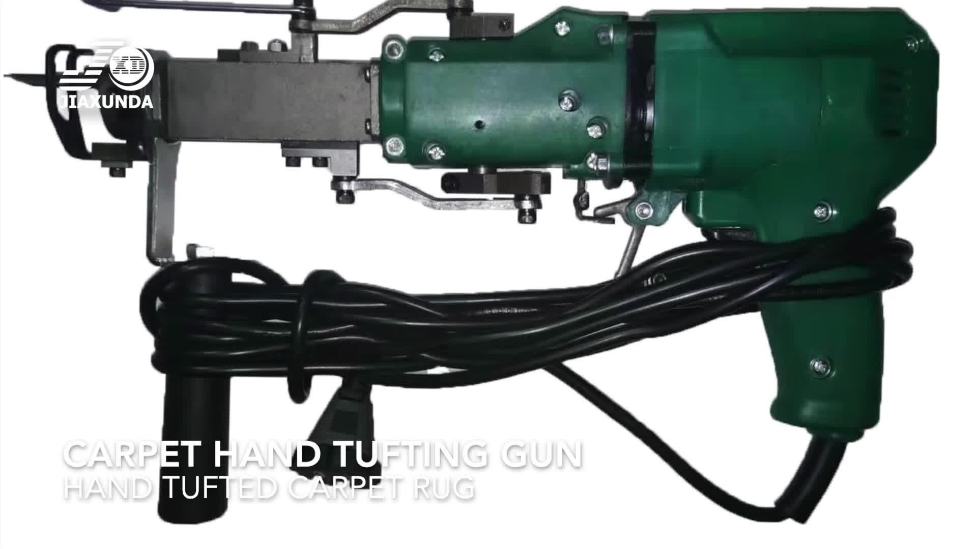 Textura eléctrica de alta-chino hecho a mano alfombras alfombra mano acolchado arma